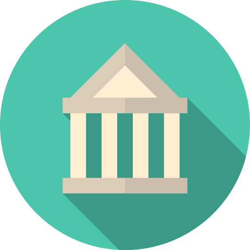 1427922667_bank_building_government_structure_banking_office_classic_courthouse_financial_institution_flat_design_icon-512